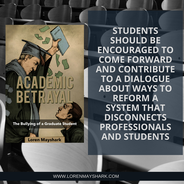 Academic Betrayal Book