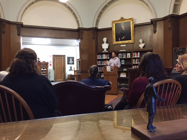 Reading and Signing for Death: An exploration at the Patterson Library in Westfield, NY