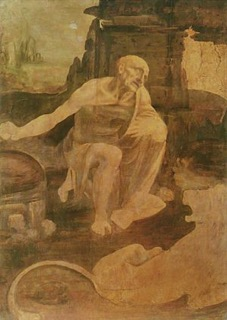 Leonardo da Vinci St. Jerome in the Desert