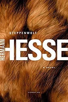 cover of Steppenwolf with Hesse's name printed